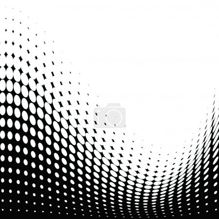 Foto de Textura de puntos de medio tono para fondos y diseño . - Imagen libre de derechos