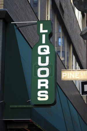 Interesting liquors store sign