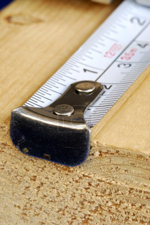 Measuring tape is the tool for carpenter