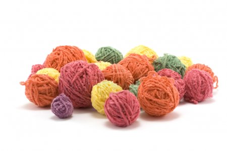 Ball of the colour threads 2