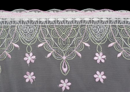 Lace decorated by pattern