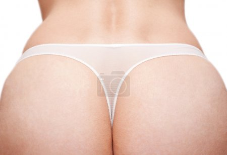 Feminine prist in white panties