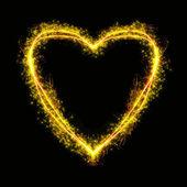 Hořící srdce