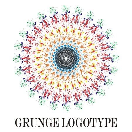 Grunge logotype