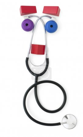Friendly Pediatric Stethoscope