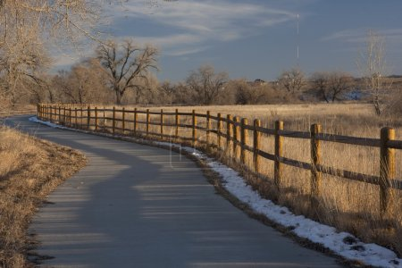 Bike trail in Colorado near Greeley
