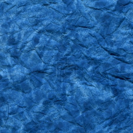 Blue watercolor crumpled background