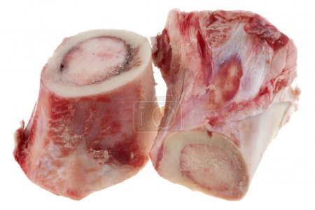 Raw caw bones