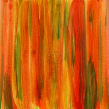 Red, green and yellow abstract