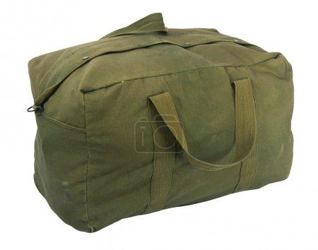 sac de sport toile vert militaire