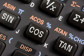 Keyboard of scientific calculator