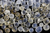 Moisture adsorbing silica gel beads