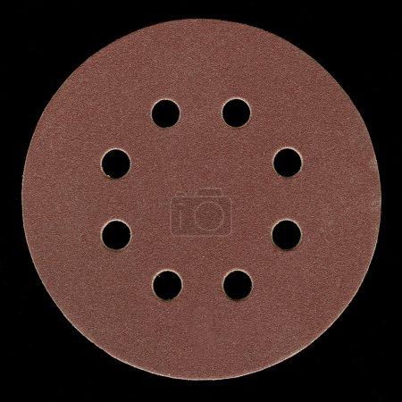 Fine grit sanding disk