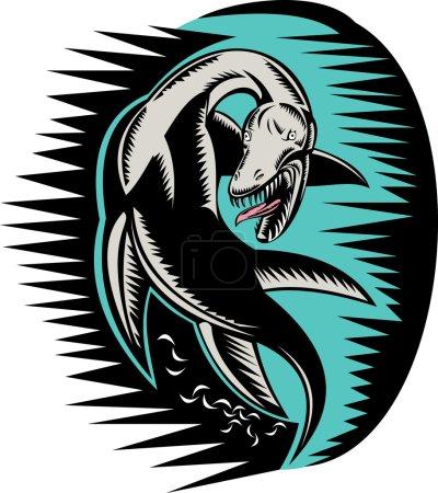 Loch ness monster or sea serpent