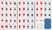 Set of playing cards To see similar please visit my gallery