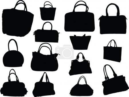 Big collection of purses