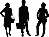 Business silhouette 3