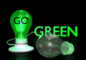 Go Green Light Bulb
