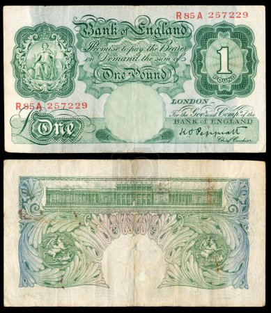 Old English bank note