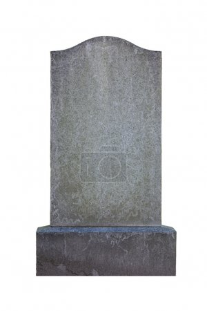 Blank gravestone, ready for inscription...