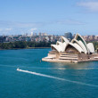 Viiew of Sydney Opera House taken from Sydney Harb...