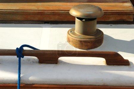 Sailing boat - vent tube