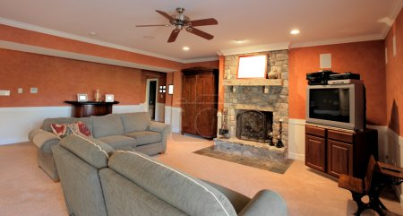 Family Room Interior
