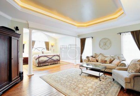 Upscale Master Suite Interior