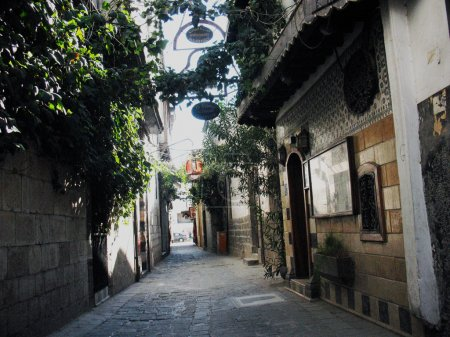 Streets in the old town are imbued with the spirit...