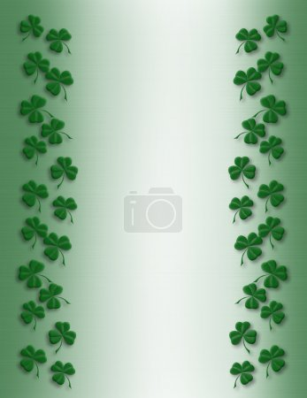 St Pattys Day Border simple