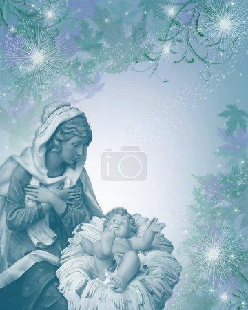 Christmas Magic Nativity Scene