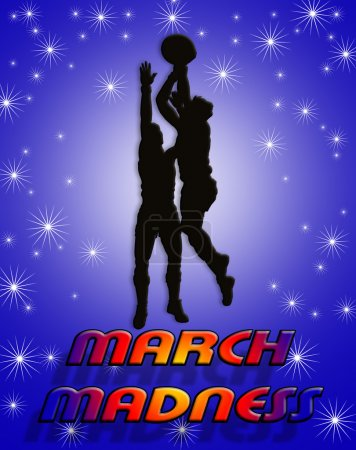 March Madness Basketball Players