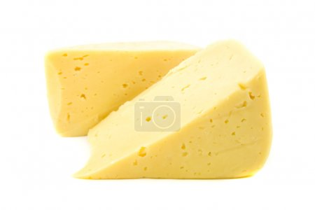 Photo for Cheese isolated - Royalty Free Image