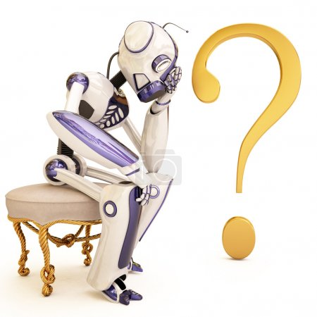 Robot and question