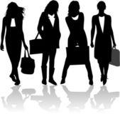 Shopping Girls 2 - vector work