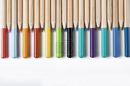 Photo for Colored Pencils - Royalty Free Image