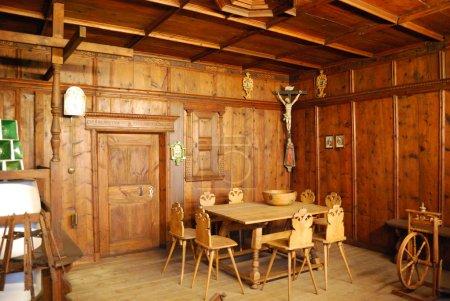 Medieval german rooms interior