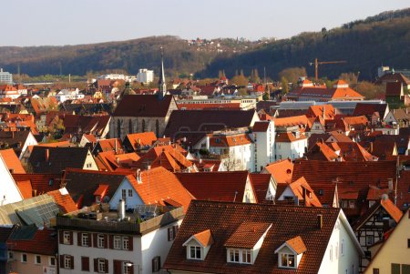 Panoramic view of Stuttgart-Esslingen