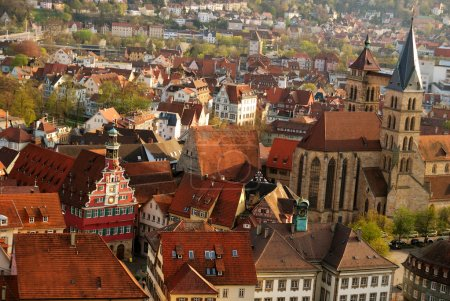 Photo for Stuttgart-Esslingen old town centre, Baden Wurttemberg, Germany - Royalty Free Image