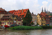 Bamberg old town and embankment