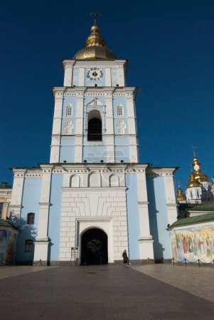 Photo for Orthodox church and wall murals, Kyiv, Ukraine - Royalty Free Image