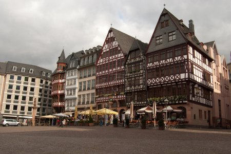 Medieval buildings in Frankfurt