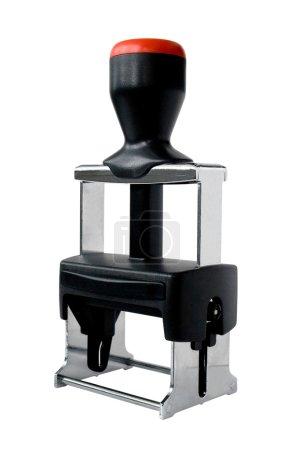Photo pour Timbre caoutchouc moderne en plastique et métal - image libre de droit