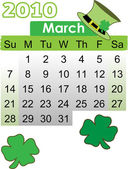 Calender March 2010