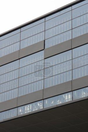 Modern glass Built Structure building