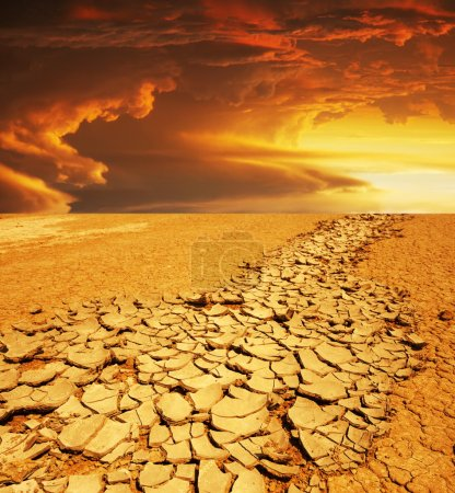 Photo pour Terre de sécheresse - image libre de droit