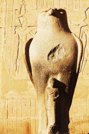 Photo pour Temple d'horus à Edfou, Egypte. - image libre de droit