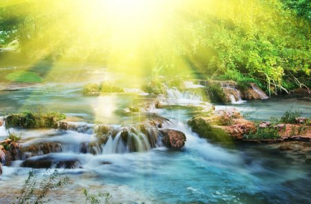 Photo for Water cascade - Royalty Free Image