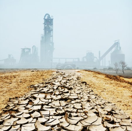 Photo for Industrial destruction - Royalty Free Image