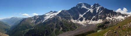 Panorama glacier the Big seven